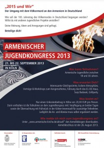 Armenischer Jugendkongress 2013-01_Internet