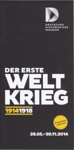 Flyer-Ausstellung Erster Weltkrieg_Internet
