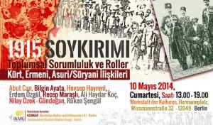 Kurdische Intellektuelle diskutieren über den Völkermord von 1915 Flyer