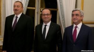 Das Treffen der Präsidenten in Paris 20141027