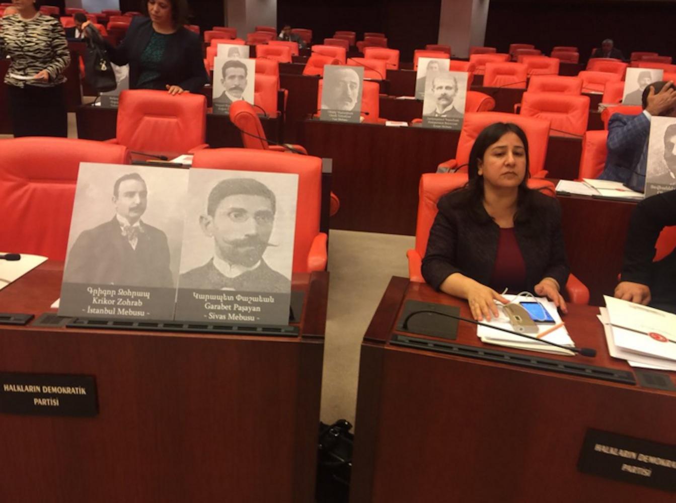 Armenische Abgeordnete TBMM